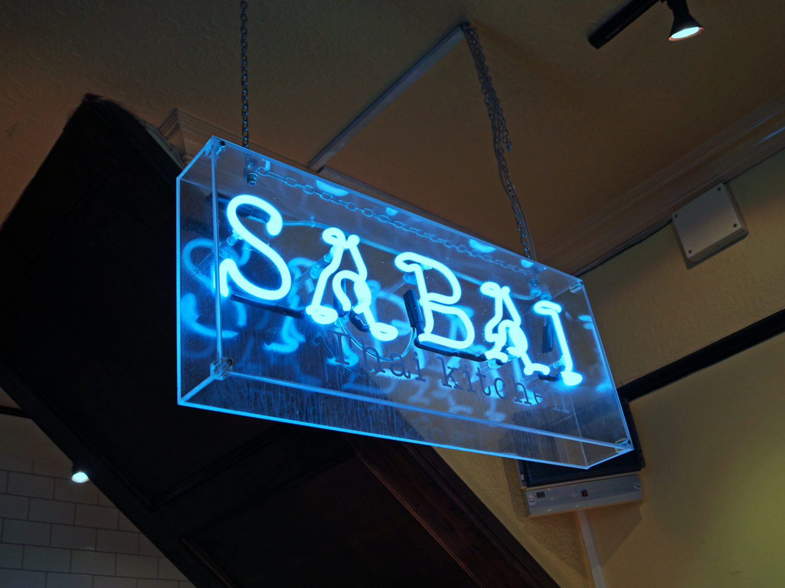 Sabai Kitchen Sign