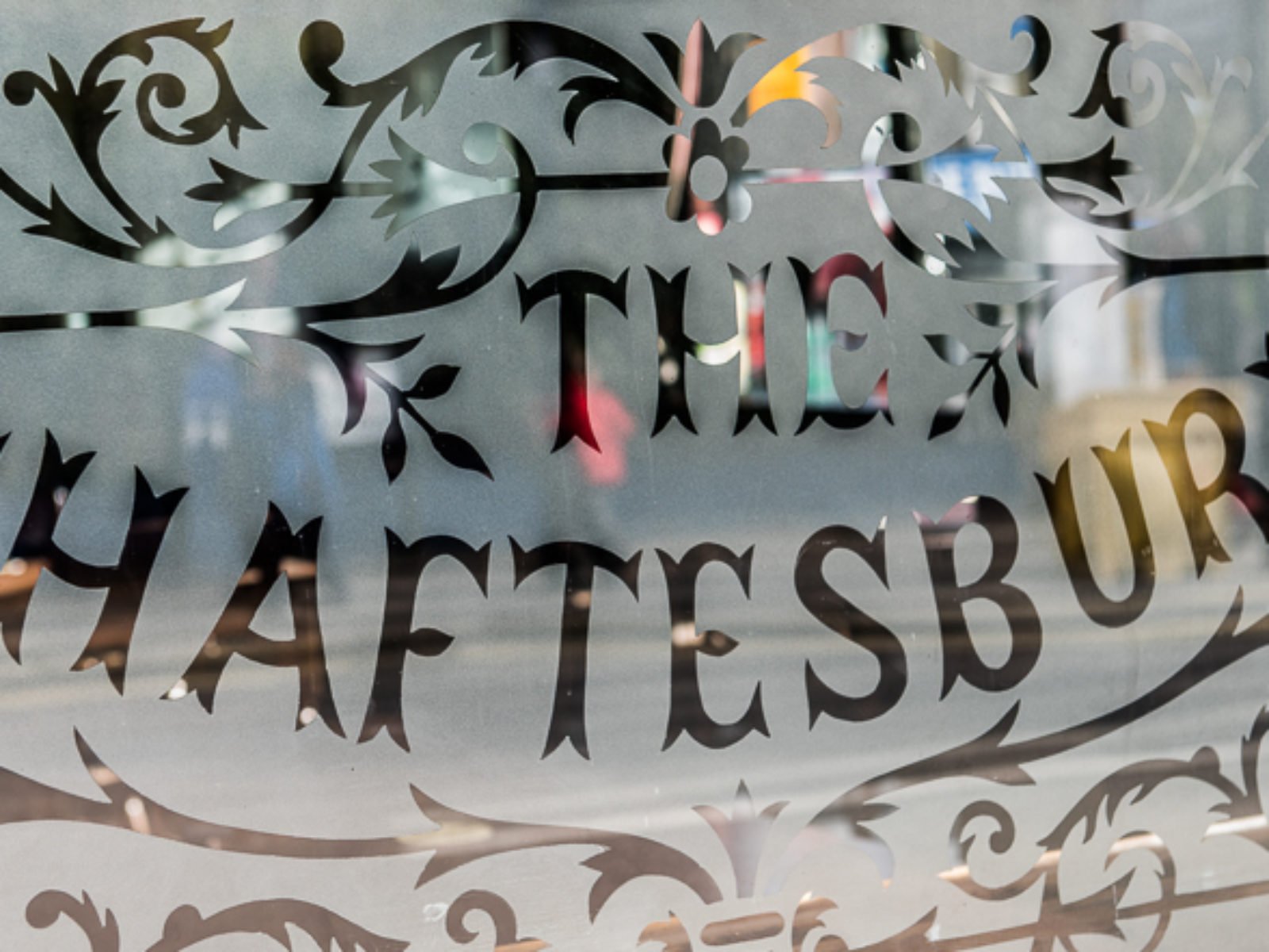 Shaftesbury Tavern Window